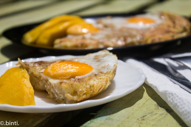 Eggs Baked in Hash browns