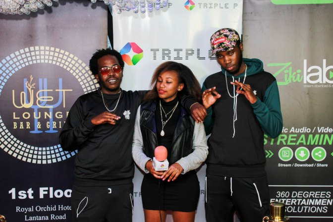 TnT at the Christopher Wallace video launch